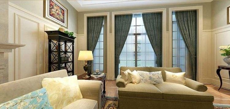別墅客廳窗簾怎么選?有哪些技巧?_裝修知識_新聞資訊